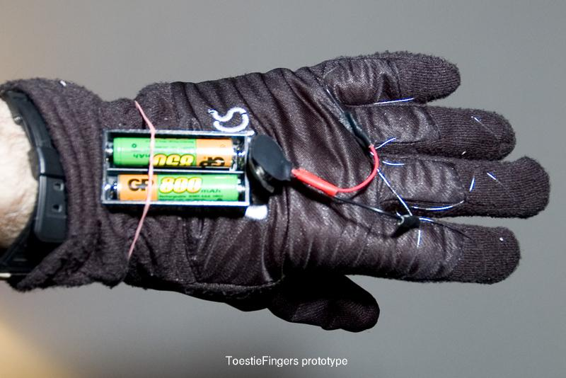 Toesties How To Make Electric Finger Warmers For Gloves And Power