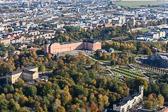 Uppsala city och slottet