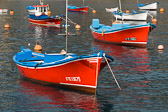 Boats in Vueltas harbour